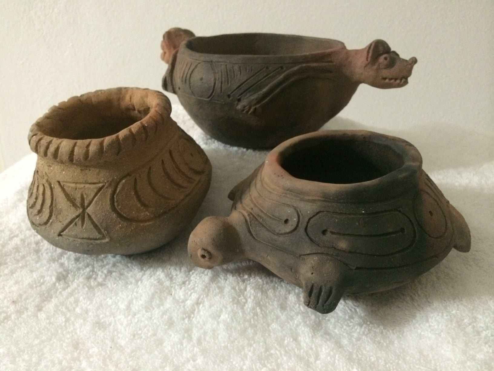 First Nation Taino Pottery